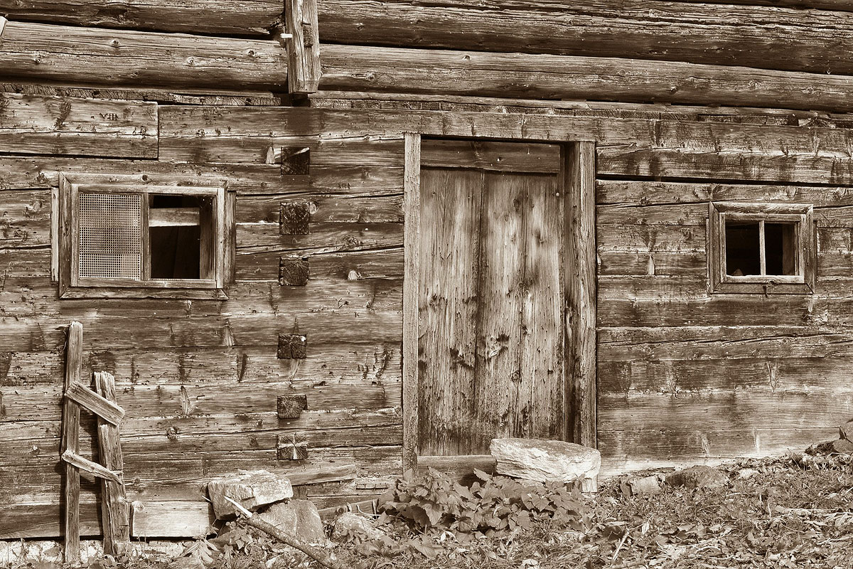 Assemble Your Log House or Your Log Cabin Yourself or Get It Assembled